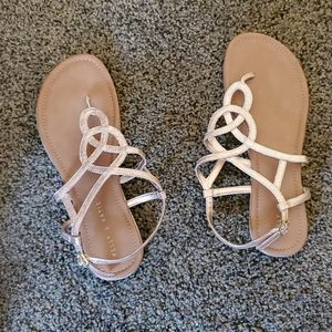Size 11 Kelly and Kate Rose Gold sandal